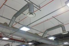 Industriële airconditioning Stock Afbeeldingen