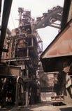 Industriële architectuur Royalty-vrije Stock Foto's