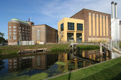 Industriële Architectuur Stock Foto's