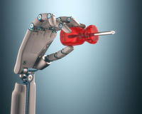 Industriële automatisering vector illustratie