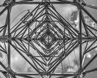 Industriële bouwachtergrond royalty-vrije stock foto's