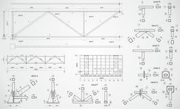 Industriële bundel Royalty-vrije Stock Afbeeldingen