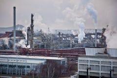 Industriële complex Royalty-vrije Stock Afbeelding
