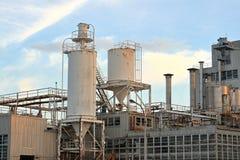 Industriële Complex Royalty-vrije Stock Foto's