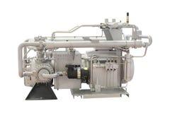 Industriële compressor royalty-vrije stock foto