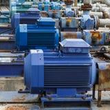 Industriële de motor van het fabrieksmateriaal Royalty-vrije Stock Fotografie
