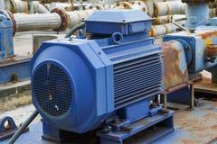 Industriële de motor van het fabrieksmateriaal Royalty-vrije Stock Foto