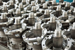 Industriële delen Stock Afbeelding