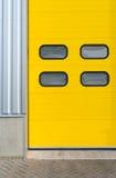 Industriële deur royalty-vrije stock afbeeldingen