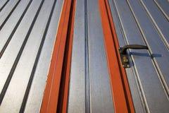 Industriële deur Royalty-vrije Stock Foto
