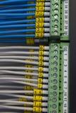 Industriële elektro bedrading stock afbeeldingen