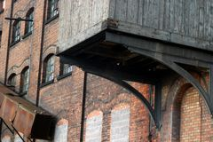 Industrieel erfgoed, Oude Molen Stock Foto