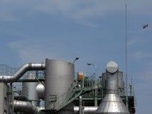 Industriële fabriek royalty-vrije stock afbeelding