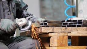 Industriële fabriek  stock videobeelden