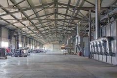 Industriële fabriek stock foto