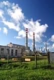 Industriële fabriek Royalty-vrije Stock Afbeeldingen