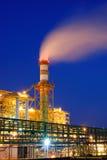 Industriële fabriek stock foto's