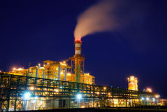Industriële fabriek royalty-vrije stock foto's