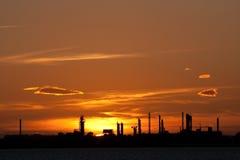 Industriële faciliteiten Royalty-vrije Stock Afbeeldingen