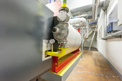 Industriële gasfornuizen Stock Foto's