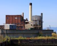 Industriële Gebouwen Stock Afbeelding