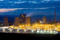 Industriële gebouwen Stock Fotografie
