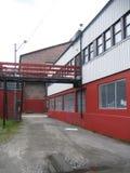Industriële gebouwen Royalty-vrije Stock Afbeelding