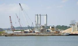 Industriële grintinstallatie Stock Fotografie