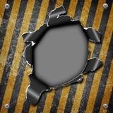 Industriële grungy staalplaat royalty-vrije illustratie