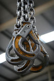 Industriële Haken Royalty-vrije Stock Foto's