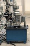 Industri?le hydraulische pomp royalty-vrije stock foto