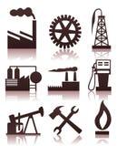 Industriële icons2 Royalty-vrije Stock Afbeeldingen