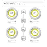 Industriële infographicselementen. Modern ontwerp te Royalty-vrije Stock Fotografie