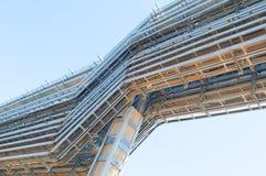 Industriële kabels Royalty-vrije Stock Afbeeldingen