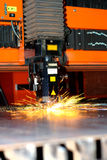Industriële laser stock foto