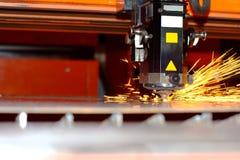 Industriële laser Stock Afbeelding