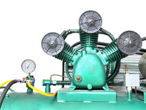 Industriële Luchtcompressor royalty-vrije stock foto's