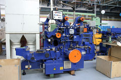 Industriële machine royalty-vrije stock foto's