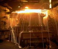 Industriële metallurgie royalty-vrije stock fotografie