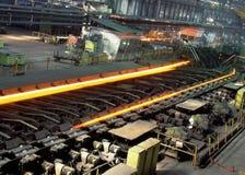 Industriële metallurgie royalty-vrije stock afbeelding