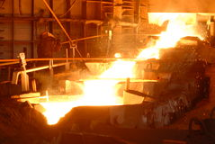 Industriële metallurgie Royalty-vrije Stock Foto's