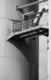 Industriële opslagtank Royalty-vrije Stock Foto's