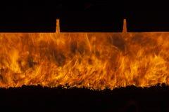 Industriële oven - Polen. stock fotografie