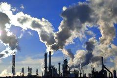 Industriële pijpen Stock Afbeelding
