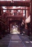Industriële Pijpen Royalty-vrije Stock Foto's