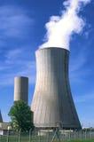 Industriële plaats in kernmacht royalty-vrije stock afbeeldingen