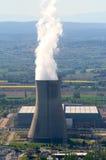 Industriële plaats in kernmacht stock fotografie