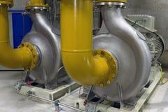 Industriële pompen Royalty-vrije Stock Fotografie