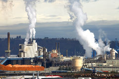 Industriële productie. Stock Foto