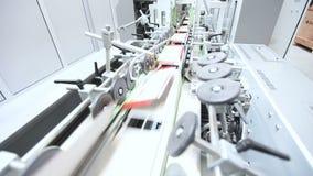 Industriële productielijn Werkende fabriekstransportband